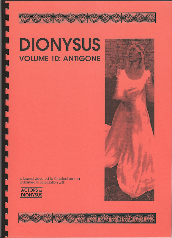 Vol 10: Antigone