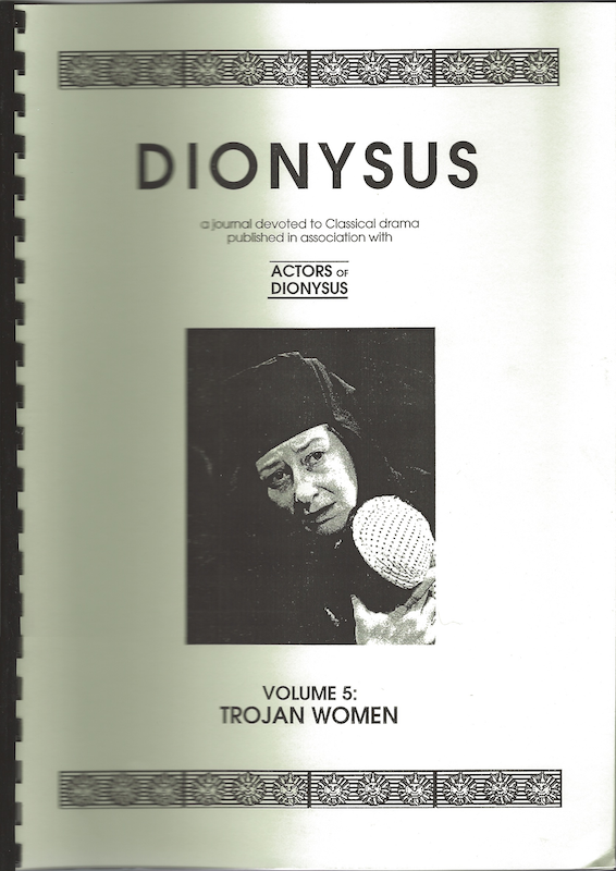 Vol 5: Trojan Women